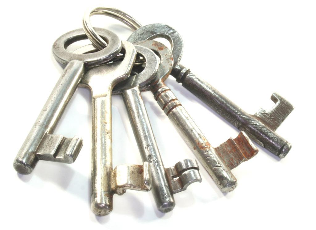 5 Schlüssel